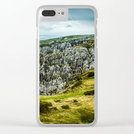 Cantabrian Mountains Clear iPhone Case