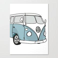 VW Camper Canvas Print