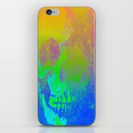 Skull/Star II iPhone Skin