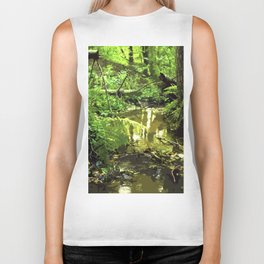 Deep in the forest Biker Tank