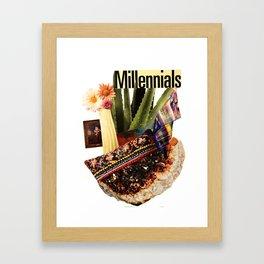 Millennials Framed Art Print
