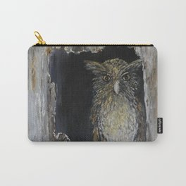 Buffy Fish Owl Carry-All Pouch