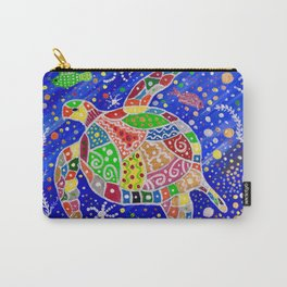 THE TURTLE MAN BUDGIAL Carry-All Pouch