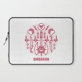 Barbarian Emblem Laptop Sleeve