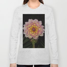 blooming pink flower Long Sleeve T-shirt