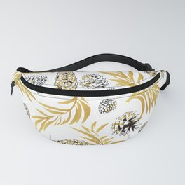 #Christmas #Pattern #Pine #Snow 5 Fanny Pack