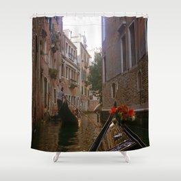 enjoyable gondola in Venice Shower Curtain