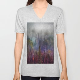 Four Seasons Forest Unisex V-Neck
