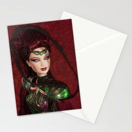 Chica Alienigena Stationery Cards