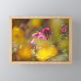 Autumn dream in yellow light Framed Mini Art Print
