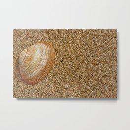 sand towel Metal Print
