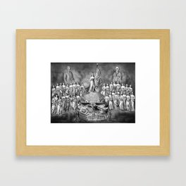God, Liberty, And Constitutional Rights Framed Art Print