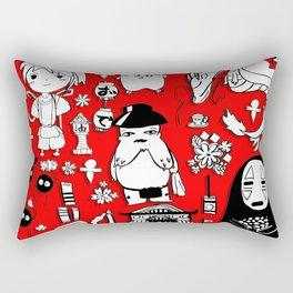 Spirit Away Characters Rectangular Pillow