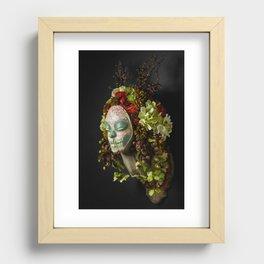 Acorn Harvest Muertita Recessed Framed Print