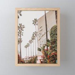 The Beverly Hills Hotel / Los Angeles, California Framed Mini Art Print