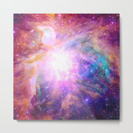 Galaxy Nebula Metal Print