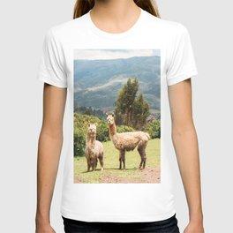 Llama Party T-shirt