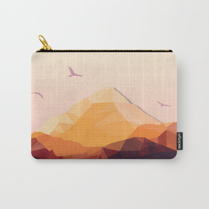 Night Mountains No. 25 Carry-All Pouch