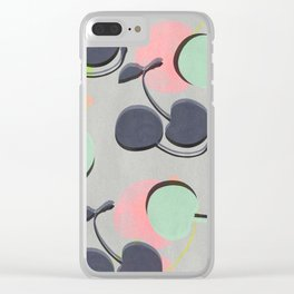 Cherry 2 Clear iPhone Case