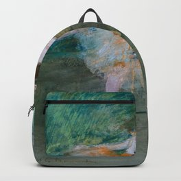 "Edgar Degas ""Dancer on stage"" Backpack"