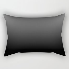 Dark Ombre Rectangular Pillow