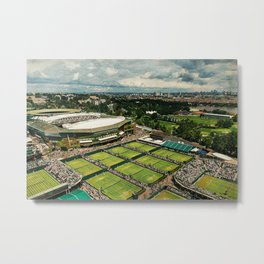Wimbledon & London Metal Print