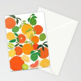 Citrus Harvest Stationery Cards