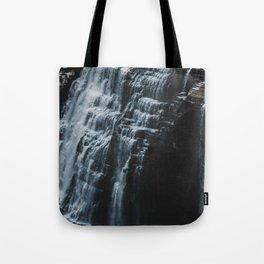 Middle Letchworth Falls Tote Bag