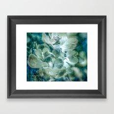 Dreaming of roses Framed Art Print