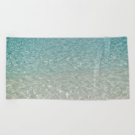 Crystal Clear Beach Towel