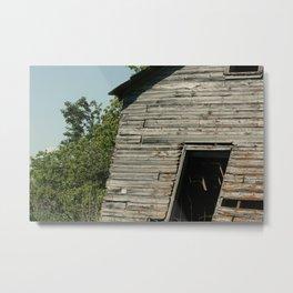 Abandoned Barn Metal Print