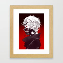 Kaneki Ken TG Framed Art Print