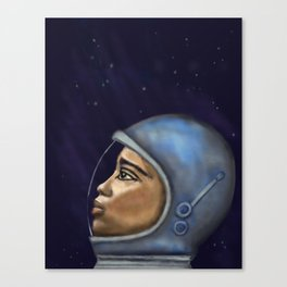Looking into the Unknown Canvas Print