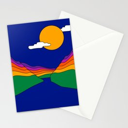 Rainbow Ravine Stationery Cards