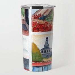 Collection of dreamy street corners Travel Mug