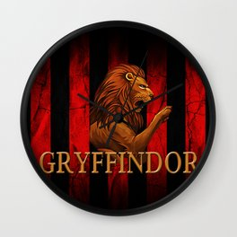 Grryffindor Wall Clock