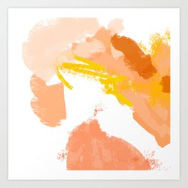 Ambience 037 hacienda Art Print