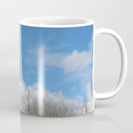 Blue Lined Skies Coffee Mug