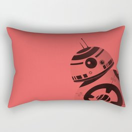 BB8 Red Rectangular Pillow