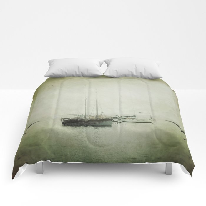 Two boats Comforters