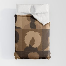 FOR BROWN GIRLS COLLECTION COLLAGE Comforters