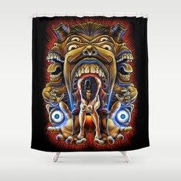 Winya No.5 Shower Curtain