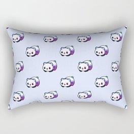 Kawaii Galactic Mighty Panda pattern Rectangular Pillow