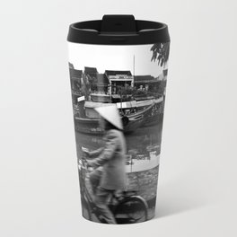 Vietnam's bycicle Travel Mug