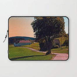 A tree, a road and summertime Laptop Sleeve