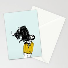 what is likely to happen when one is full of bull Stationery Cards