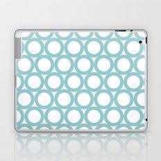 Aqua dots- pattern Laptop & iPad Skin