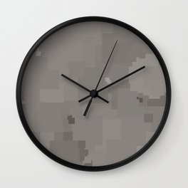 Paloma Square Pixel Color Accent Wall Clock