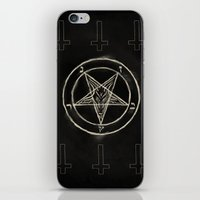 pentagram iPhone & iPod Skins featuring Pentagram by Corpse inc