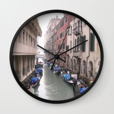Streets in Venice Wall Clock